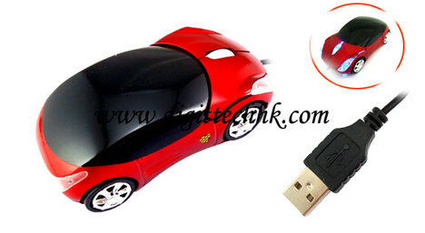 Car Shape Usb 3d Optical Mouse Mice For Pc Laptop