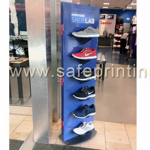 Cardboard Display Rack For Haning Iterms Shoes