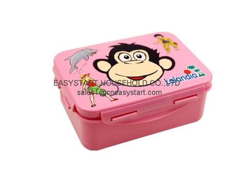 Cartoon School Eco Friendly Lunch Box