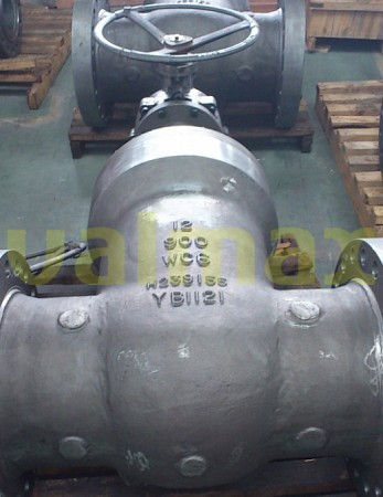 Cast Steel Pressure Seal Gate Valves 900 Lb 12 Inch