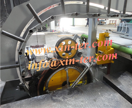 Continuous Casting And Rolling Line Machine