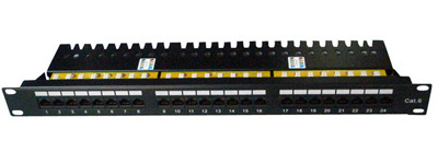 Cat 6 Utp Patch Panel 24 Ports Krone Idc Pcb Drawer Type