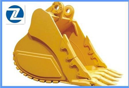 Cat345 Excavator Spare Part Rock Bucket For Caterpillar