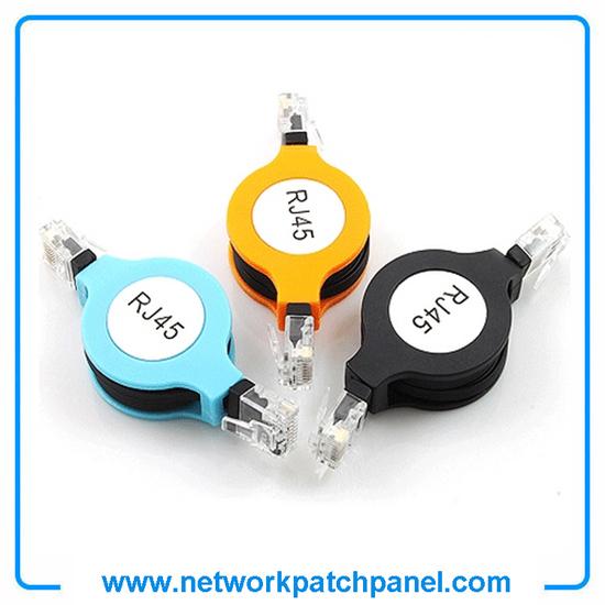 Cat5e 5ft 1 5m Colors Retractable Ethernet Cable Rj45 Network Cables Patch
