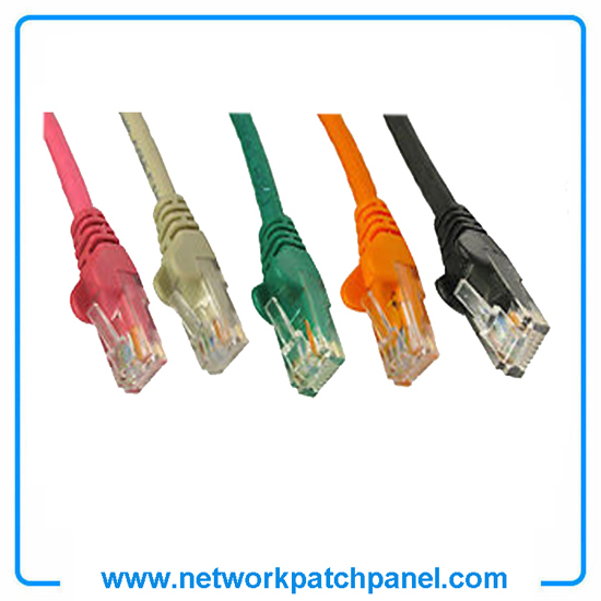 Cat5e Cat6 Green Orange Black Gray Red Ethernet Cable Lead Patch Cord