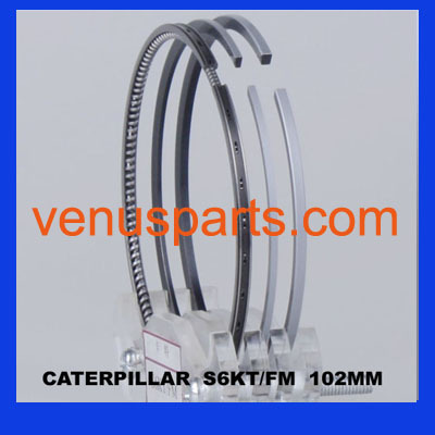 Caterpiller Parts S6kt Engine Piston Ring