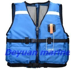 Ce Approval Inflatable Foam Life Jacket