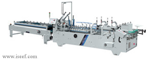 Ce Automatic Folder Gluer Profession For Making Flute Paper Model Shh B2 Is