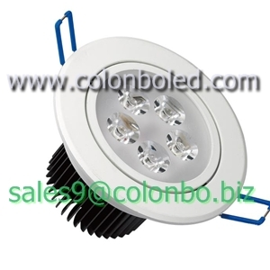 Ce Certified 5 X 1w Led Ceiling Lamp With 100 To 240v Ac Voltage Polish Fla