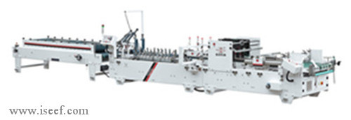 Ce High Speed Corrugated Paper Folder Gluer Automatic Deflection Correction