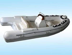 Ce Pvc Hypalon Rib Rigid Inflatable Boat China With Console
