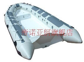 Ce Pvc Hypalon Rib Rigid Inflatable Boat China With Front Locker Sxv420a 57