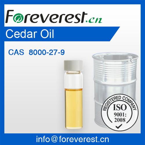 Cedar Oil Cas 8000 27 9 Foreverest