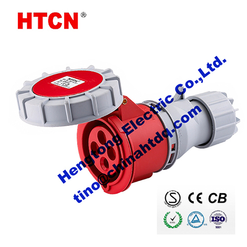 Cee Electrical Connectors Industrial Couplers 32a 3p E Ip67 6h Htn2241