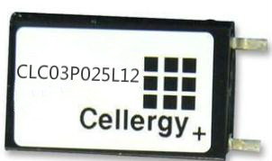 Cellergy Electrochemical Supercapacitor