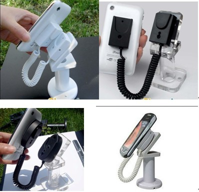 Cellular Iphone Security Alarm Display Stand Holder Mount