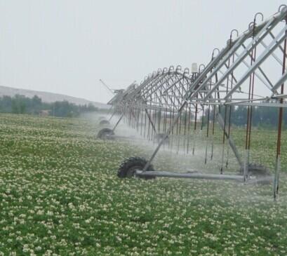 Center Pivot Irrigation New Desert Land System
