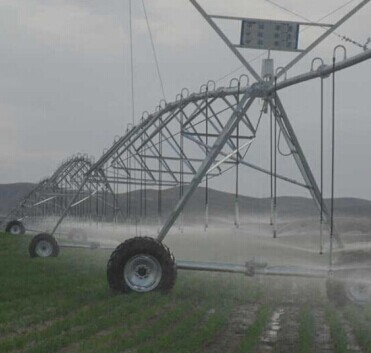 Center Pivot Irrigation System In China Hydroponic Automatic Farm Small