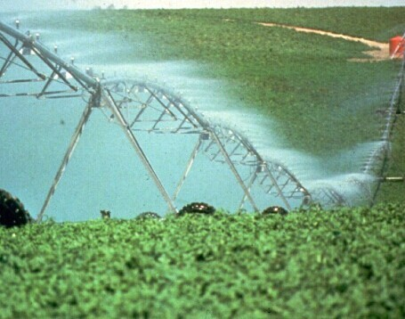 Center Pivot Irrigation Valley Style Toweable Sprinkler System