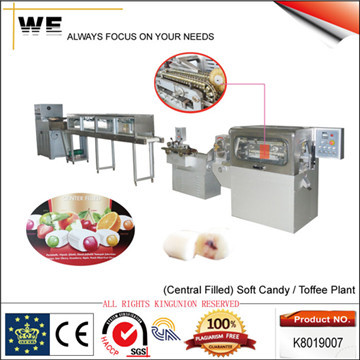 Central Filled Soft Candy Machine