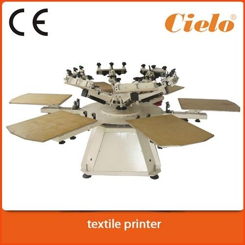 Cg T Shirt Screen Printing Machine