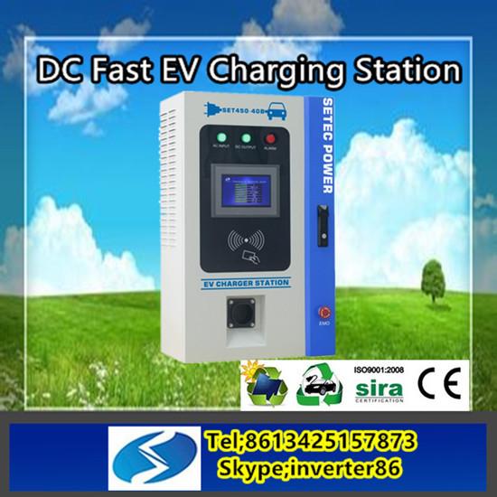 Chademo Sae Combo Ev Charging Station