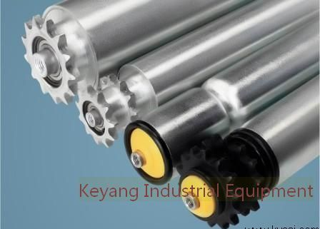 Chain Conveyor Roller Galvanized Or Stainless Steel Tube