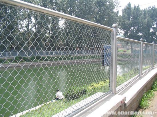 Chain Link Fence Galvanized Pvc Coated Stainless Steel