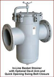 Champion Specializes In Manufacture Of Line Basket Strainers