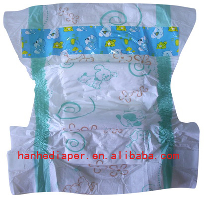 Cheap Baby Diaper With Good Absorption