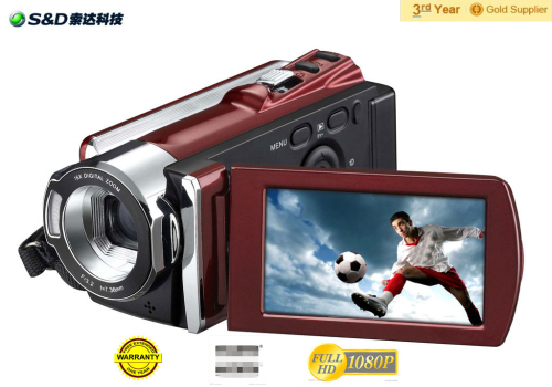 Cheap Digital Camcorder For 2013 With 3 0cmos Sensor 16mp 720p 2 7inch 16 Z