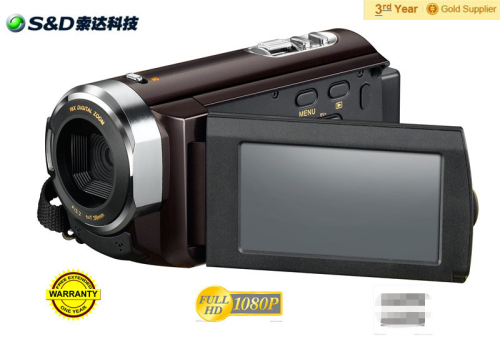 Cheap Digital Video Camcorder For 2013 With 3 0cmos Sensor 16mp 720p 2 7inc