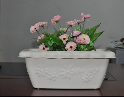 Cheap Durable Flower Large Garden Pots In 370 200 150 Mm