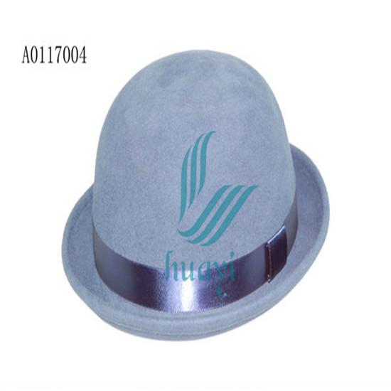 Cheap Sale Ladies 100 Wool Felt Party Bowler Hat