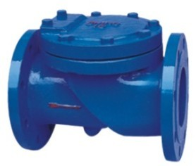 Check Valve Flanged End Swing Type Resilient Seated