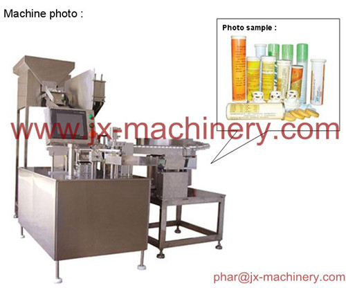 China Pharmaceutical Packing Machine For Tablet Couting Filling Capping In