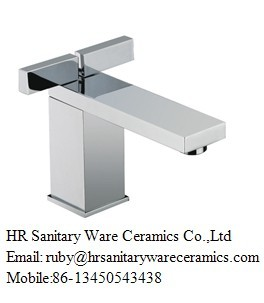 China Two Lever Basin Mixer Chrome