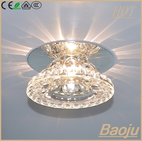 China Zhongshan Lighting Factory Crystal Ceiling Light