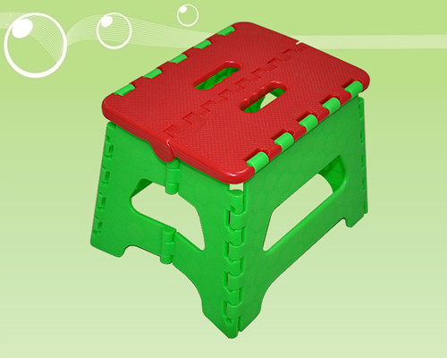 Chinese Plastic Folding Stool Manufacturer Price Size H17