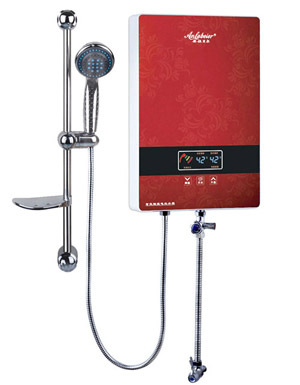 Chinese Red Instant Electric Water Shower