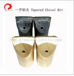 Chisel Bit Taper Drilling