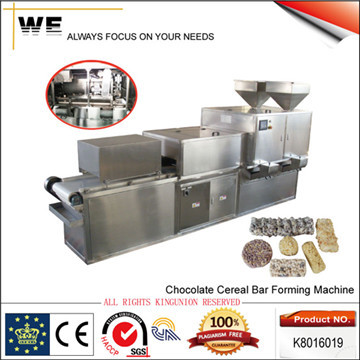 Chocolate Cereal Bar Forming Machine