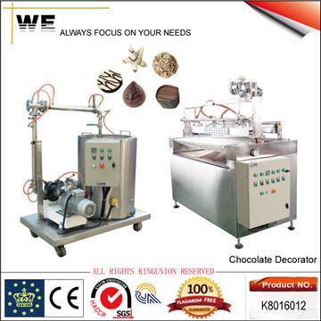 Chocolate Pattern Decorating Machine
