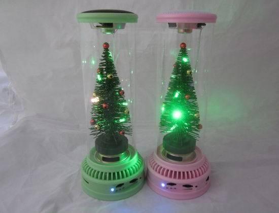 Christmas Tree Music Box Mini Angel Speaker