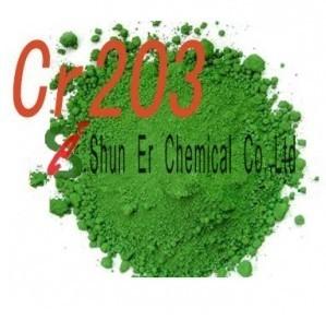 Chrome Oxide Green 99 C I 77288 Pigment 17 Dichromium Trioxide Ban Chromic