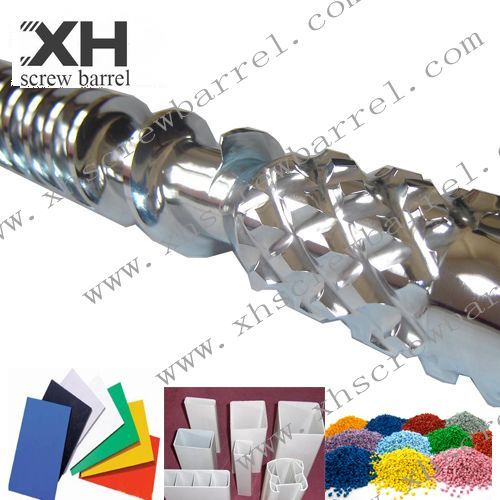Chrome Plated Screw And Barrel