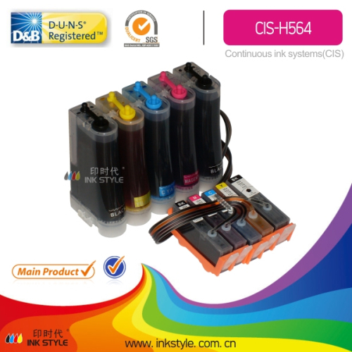 Cis H564 Continuous Ink Supply System For Hp 564 Wholesaler From China