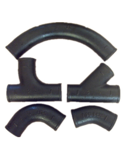 Cispi301 Astm A888 Grey No Hub Cast Iron Pipe Fittings