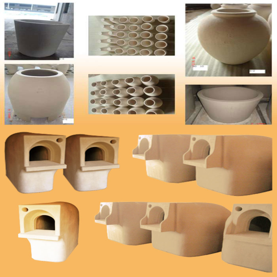 Clay Pot For Melting Glass Furnace Crucible