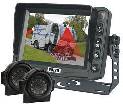Cleaning Vehicle Vision Rearview System